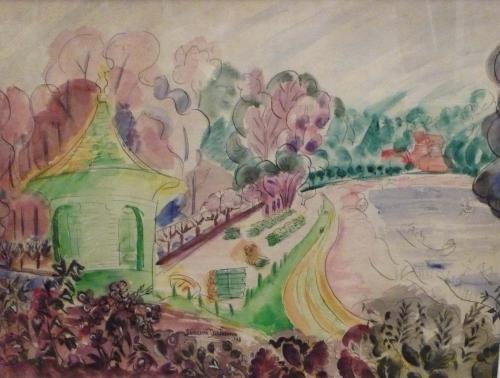DUCHAMP SUZANNE  - PAESAGGIO FAUVE 1948