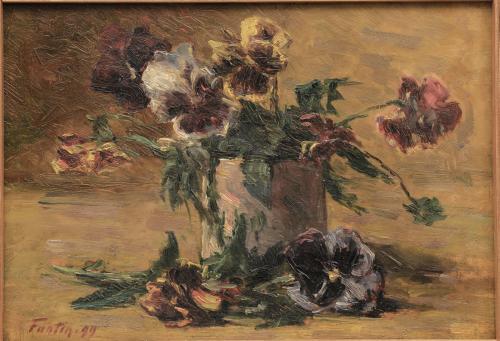 LATOUR FANTIN - NATURA MORTA 1899