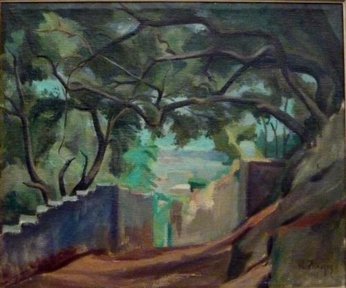 PARESCE RENATO - PAESAGGIO 1917