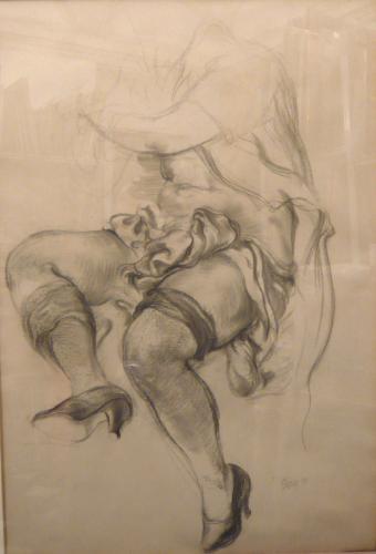 GROSZ GEORGE - NUDO 1939