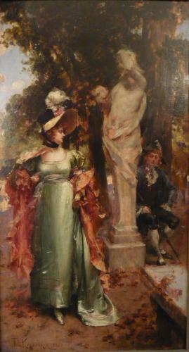 KAEMMERER Frederik Hendrik  - AGGUATO AMOROSO NEL PARCO 1880