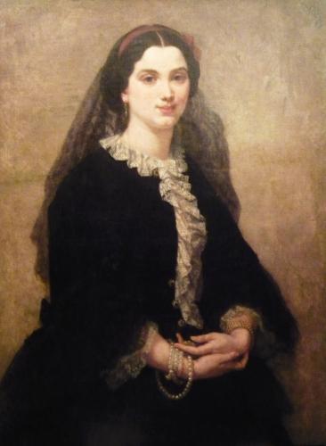 Puccinelli Antonio - Dama in nero