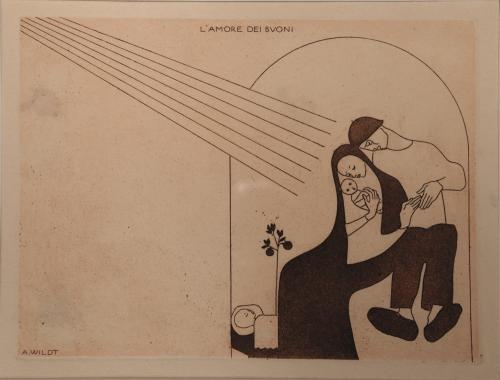 Wildt Adolfo - L'amore dei buoni