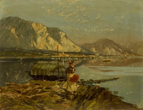 PELLEGRINI RICCARDO - LAGO MAGGIORE 1897