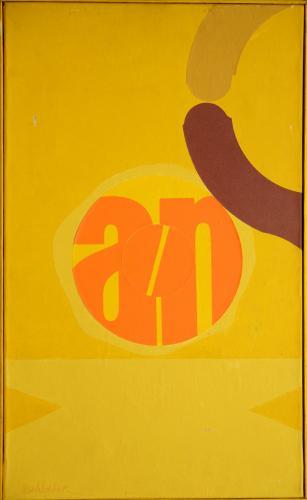 AESCHBACHER ARTUR - COMPOSIZIONE 1968