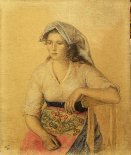 SALIETTI ALBERTO - DONNA LAZIALE 1934