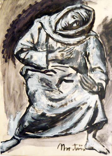 MARTINI ARTURO - STUDIO PER LA DEPOSIZIONE 1942
