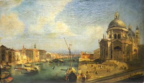 CAFFI IPPOLITO -  Veduta di Venezia  ( 1830/40 )