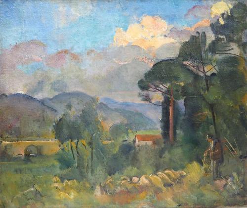 KARS  GEORGE - PAESAGGIO  1915/17
