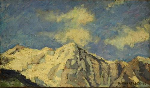 KAKABADZE DAVID - MONTAGNE 1915