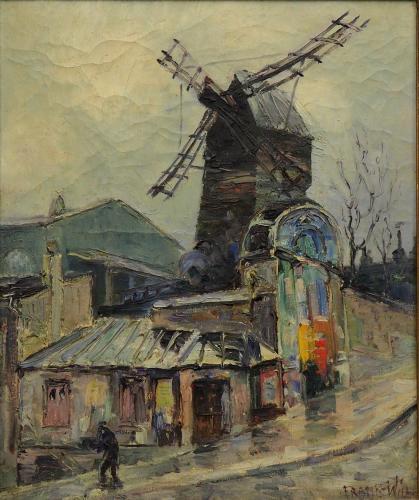 WILL FRANK - LE MOULIN DE LA GALETTE 1920/25