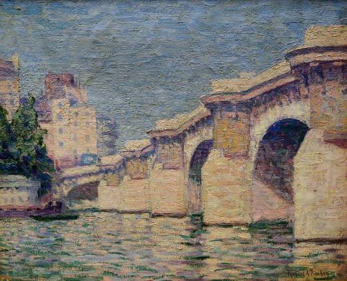 PINCHON  ROBERT A. - PONTE NUOVO A PARIGI  1907/10