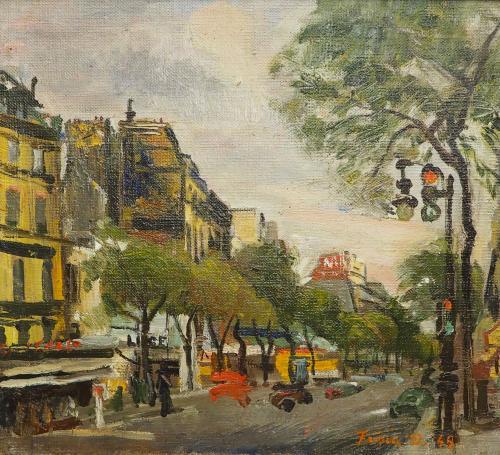 FRISIA  DONATO - PARIGI 1949