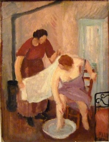 SALIETTI ALBERTO - PEDILUVIO 1922/25