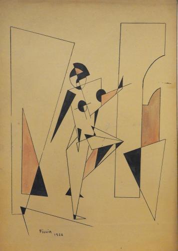 FILLIA  ( LUIGI COLOMBO ) - BALLERINA 1926