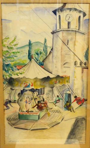 USELLINI GIANFILIPPO - LA GIOSTRA 1950