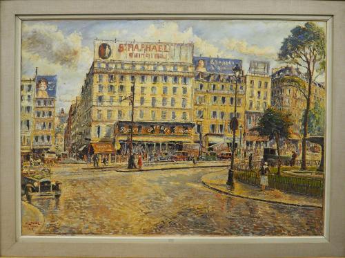 LAVAL  FERNAND - PLACE PIGALLE   PARIS 1932
