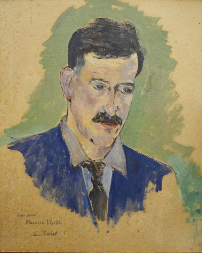 MACLET  ELISEE - RITRATTO DI MAURICE UTRILLO