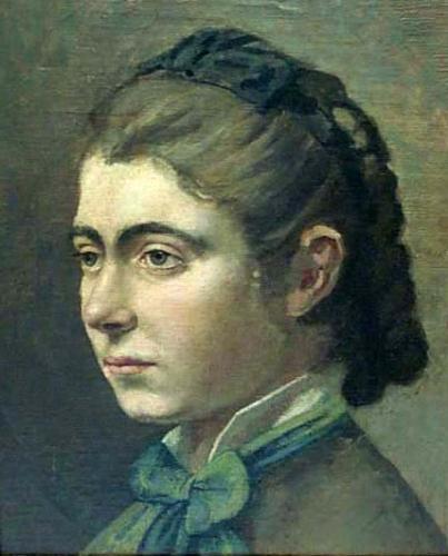 Adriano Cecioni - Testa di donna