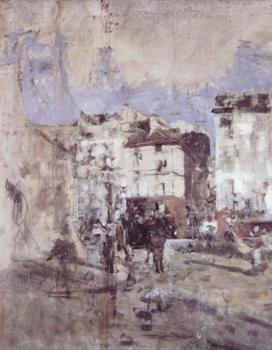 BOLDINI GIOVANNI - PLACE PIGALLE PARIS 1874