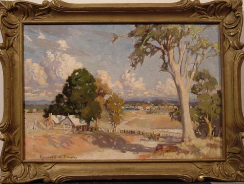 BUNNY RUPERT - PAESAGGIO AUSTRALIANO