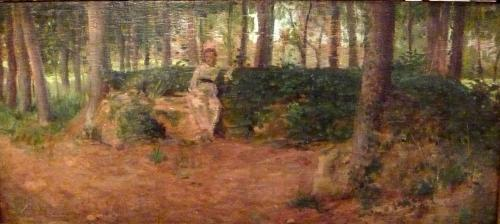 Cecconi Eugenio  - Nella quiete del bosco