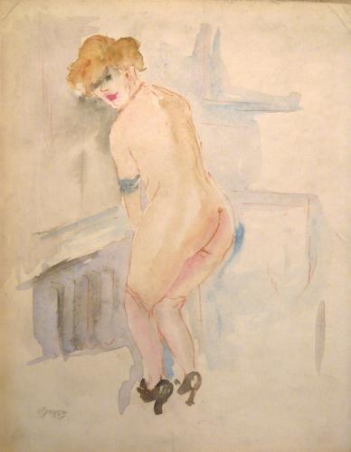 GROSZ GEORGE - NUDO 1927 / 28 C.