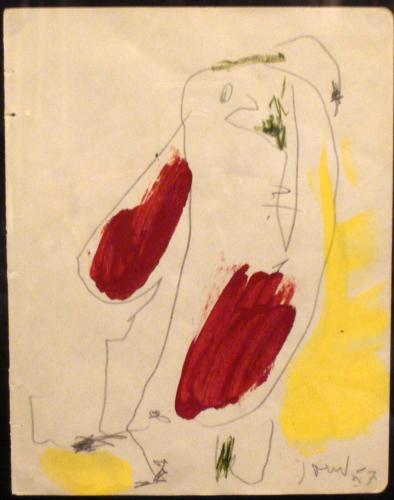 JORN ASGER - FIGURA 1957