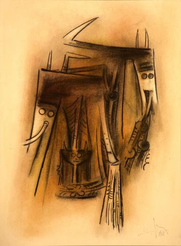 Lam Wifredo - Composizione