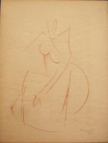 MAGNELLI ALBERTO - FIGURA 1914