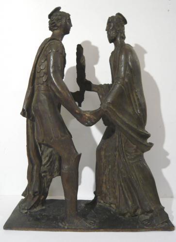 MARTINI ARTURO - INCONTRO TRA SAN CARLO E SAN GIUSTO 1930