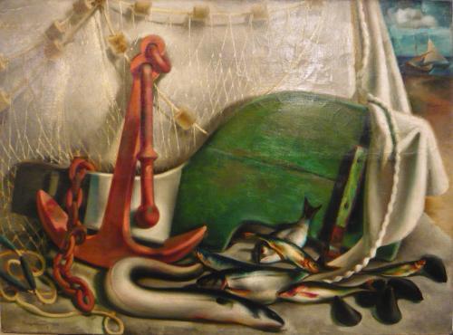 MONTANARI GIUSEPPE - I FRUTTI DEL MARE 1925