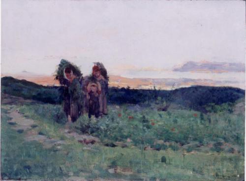 Nicolò Cannicci - Ritorno dai campi