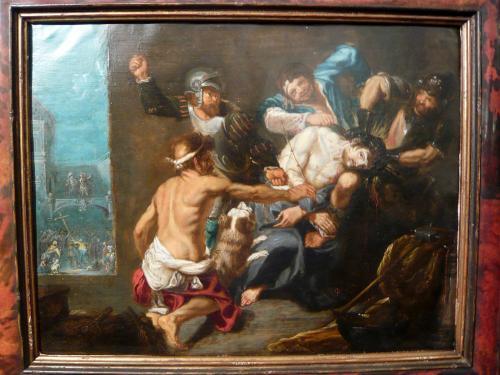 RUBENS ( ALLIEVO O SCUOLA ) - IL MARTIRIO DI CRISTO