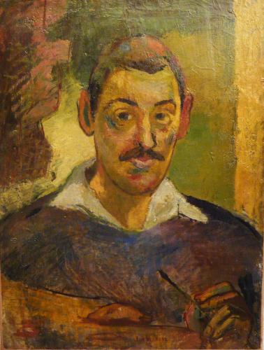 VERKADE JAN - RITRATTO DI PITTORE 1880-90