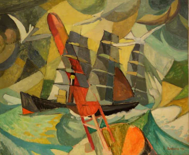 VELIERO FUTURISTA 1937