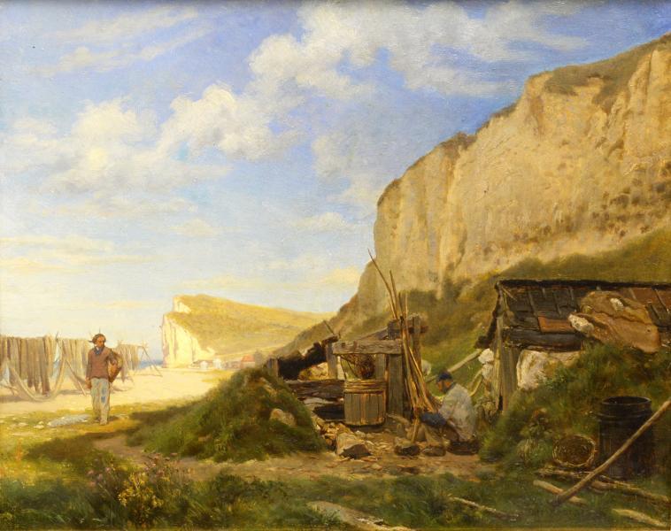 PESCATORI IN NORMANDIA 1887