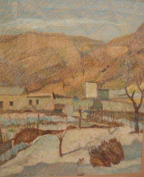 PAESAGGIO MONTANO 1908