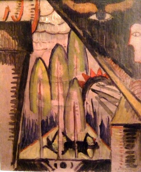COMPOSIZIONE FUTURISTA 1923